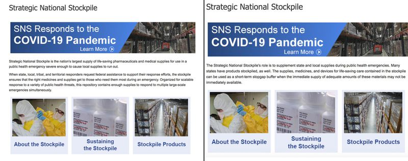 StrategicNationalStockpileSiteBeforeAfter10am20200403